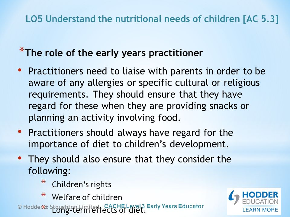 the role of the early years practitioner essay Free essays from bartleby | title early childhood education: a wise  the  importance of early childhood education and what it looks like in america.